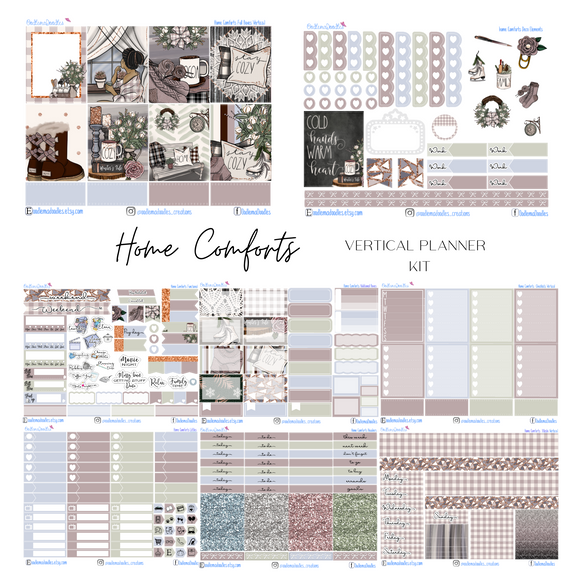 Home Comforts - Vertical Weekly