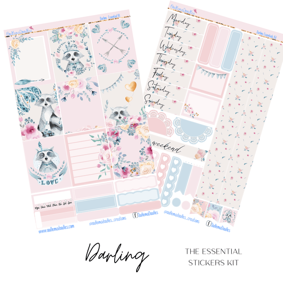 Darling Essential Planner Sticker Kit