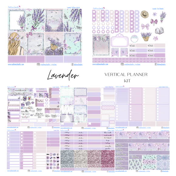 Lavender - Vertical Weekly