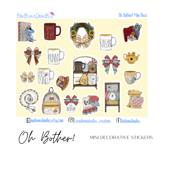Oh Bother!- Decorative Stickers