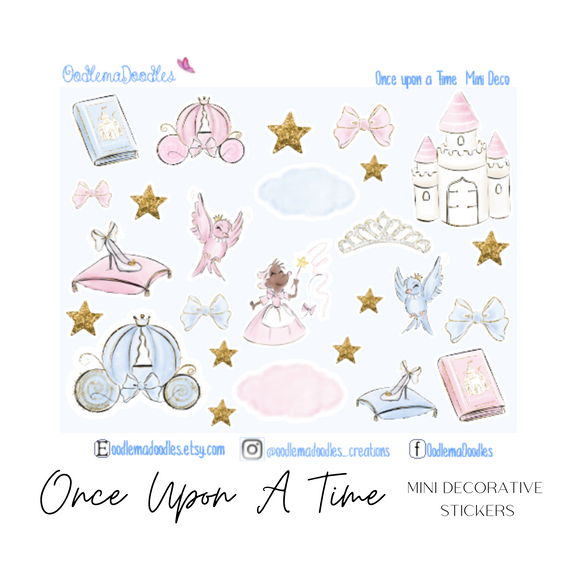 Once Upon a Time - Decorative Stickers