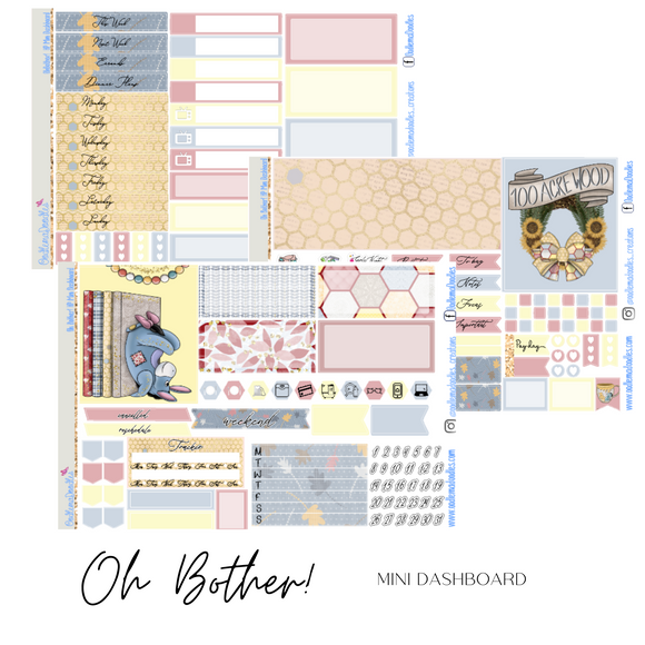 Oh Bother!- Mini HP Dashboard