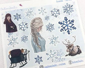 Arendelle - Decorative Stickers