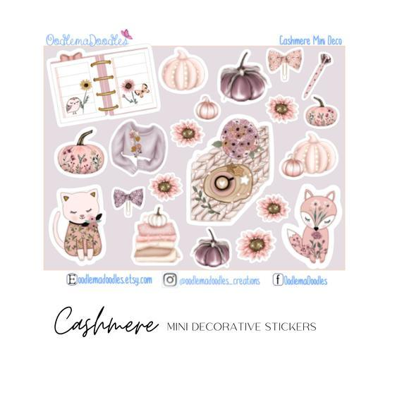 Cashmere - Decorative Stickers