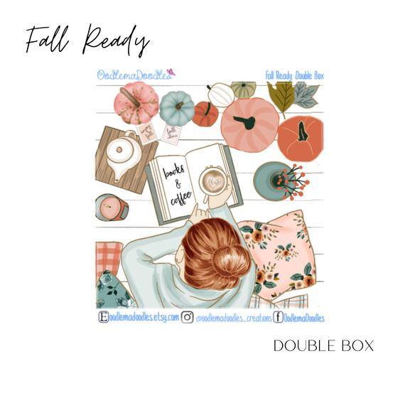 Fall Ready - Decorative Double Box Sticket