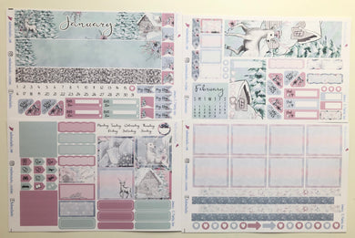January 2019 Monthly View for Erin Condren Planner