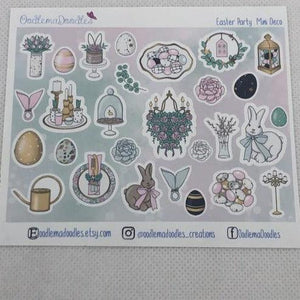 Easter Party Decorative Stickers