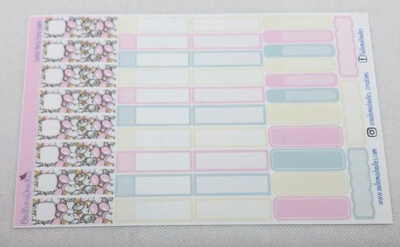 Easter Party Extra Labels Sheet