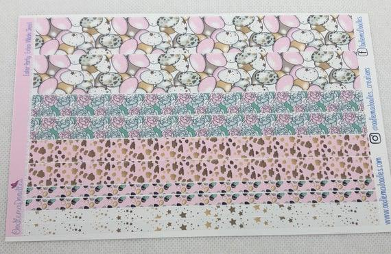 Easter Party Extra Washi Sheet