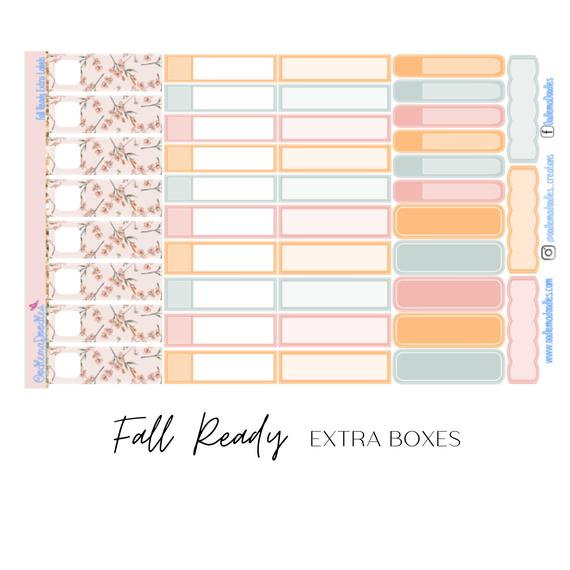 Fall Ready - Extra Labels Sheet