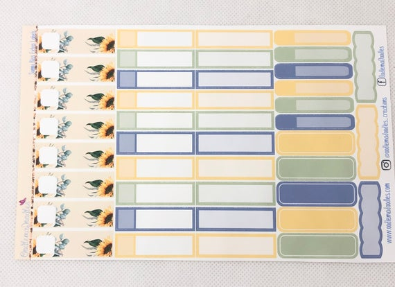 Sunny Bliss - Extra Labels Sheet