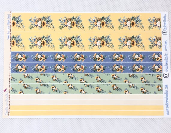 Sunny Bliss - Extra Washi Sheet