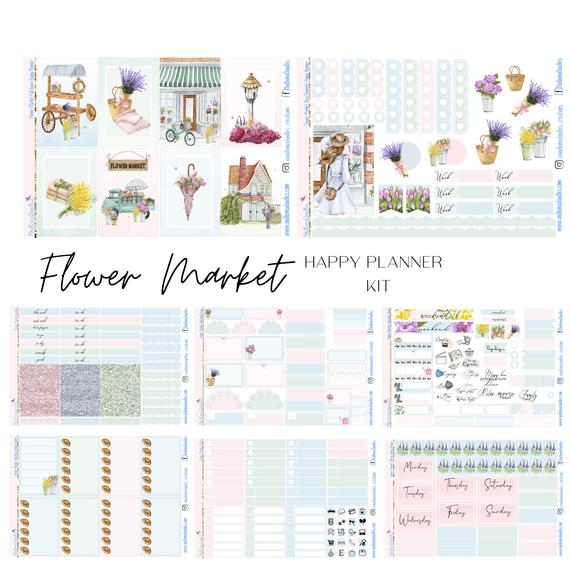 Flower Market Happy Planner Classic