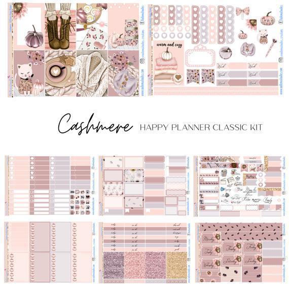 Cashmere - Happy Planner Classic