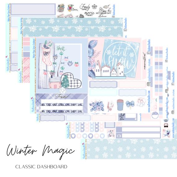 Winter Magic HP Classic Dashboard