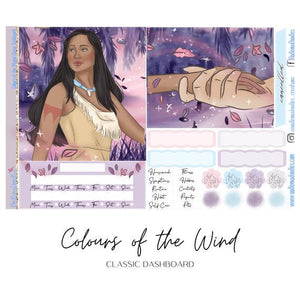 Colours of the Wind HP Classic Dashboard