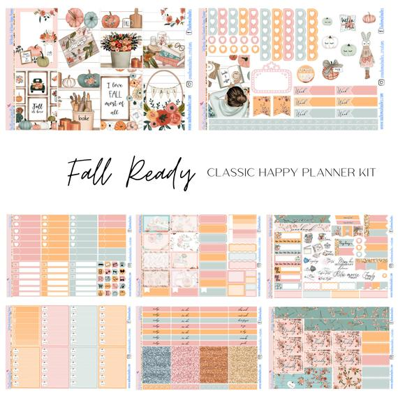 Fall Ready - Happy Planner Classic