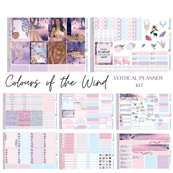 Colours of the Wind Happy Planner Classic
