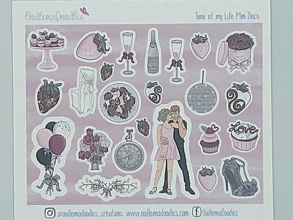 Time of my life - Decorative Stickers