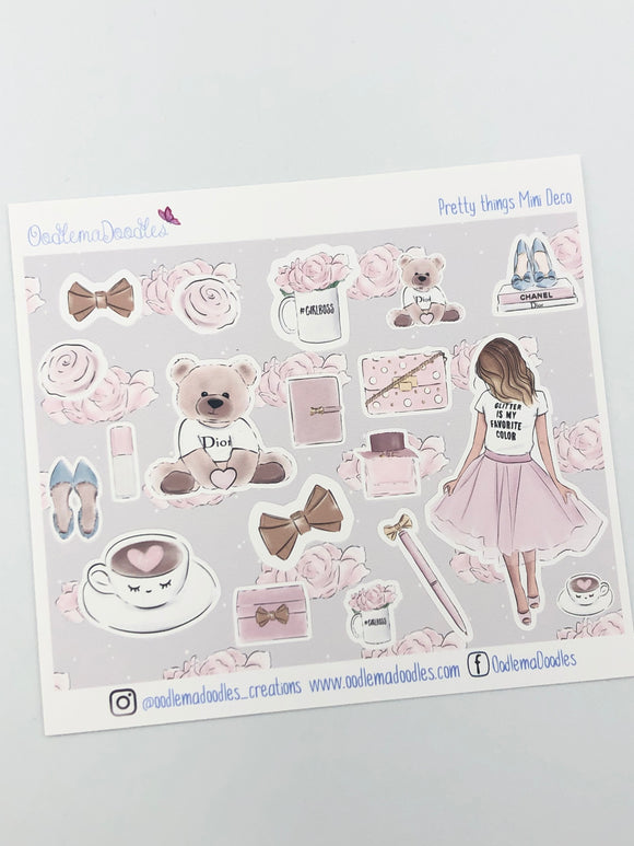 Pretty Things - Decorative Stickers