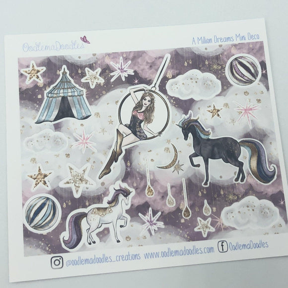 A Million Dreams - Decorative Stickers