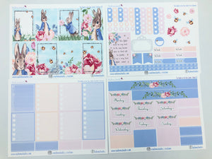 The Rabbit in the Blue Jacket - Happy Planner Classic