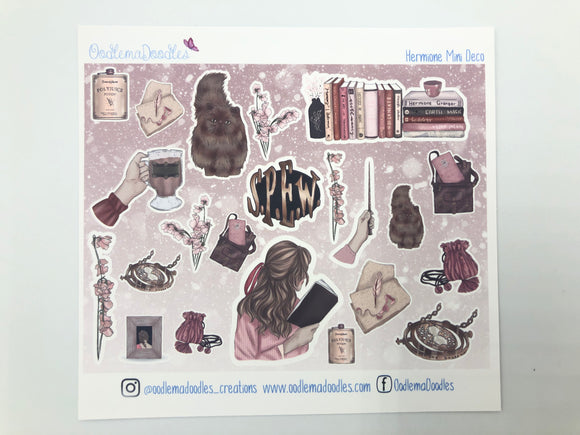 Hermione - Decorative Stickers