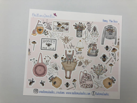 Honey - Decorative Stickers