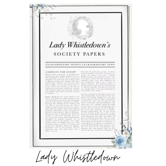 Lady Whistledown's Full Page