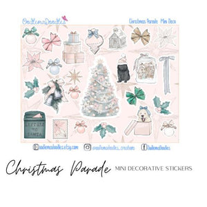 Christmas Parade Mini Decorative Stickers
