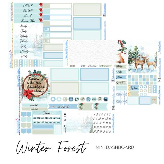 Winter Forest - Mini HP Dashboard