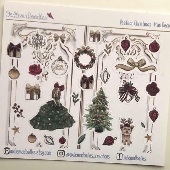 Perfect Christmas Decorative Stickers