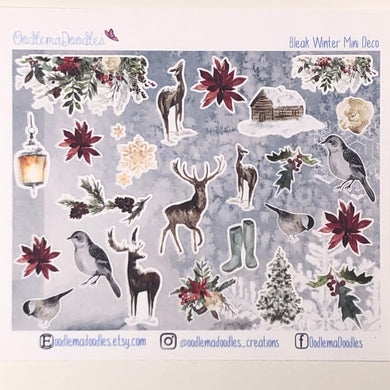 Bleak Winter - Decorative Stickers