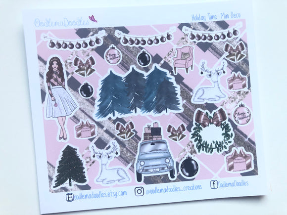 Holiday Time - Decorative Stickers