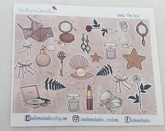Venus Decorative Stickers