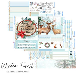 Winter Forest - HP Dashboard