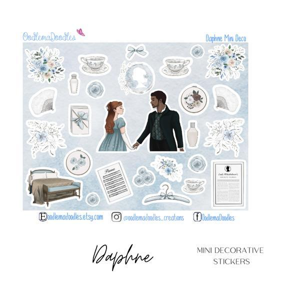 Daphne Mini Decorative Stickers
