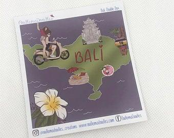 bali - Decorative Double Box Sticket