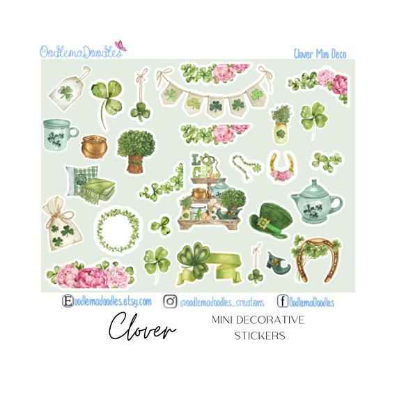 Clover Mini Decorative Stickers