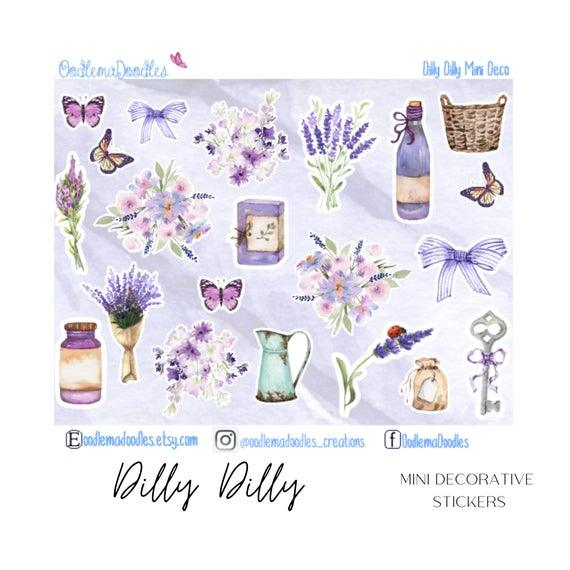 Dilly Dilly Mini Decorative Stickers