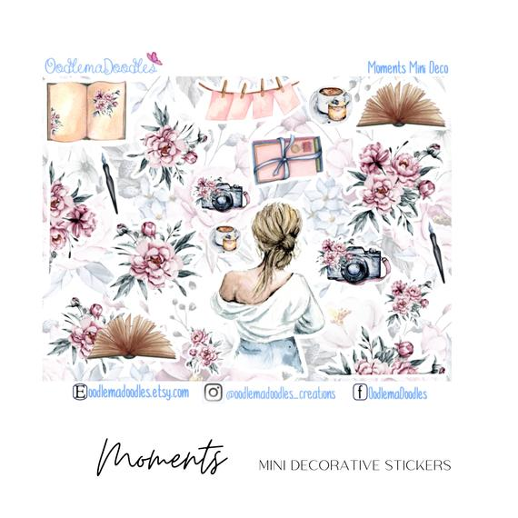Moments Mini Decorative Stickers