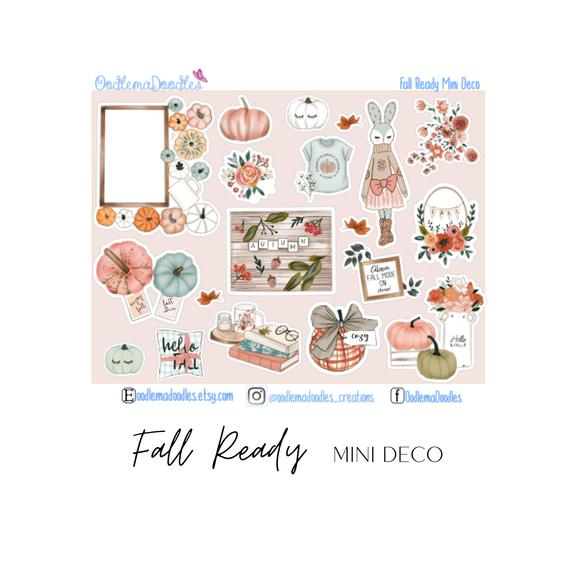 Fall Ready - Decorative Stickers