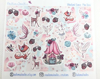 Woodland Dance - Decorative Stickers