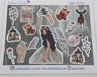 nymph - Decorative Stickers