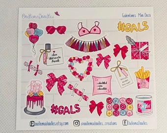Galentine - Decorative Stickers