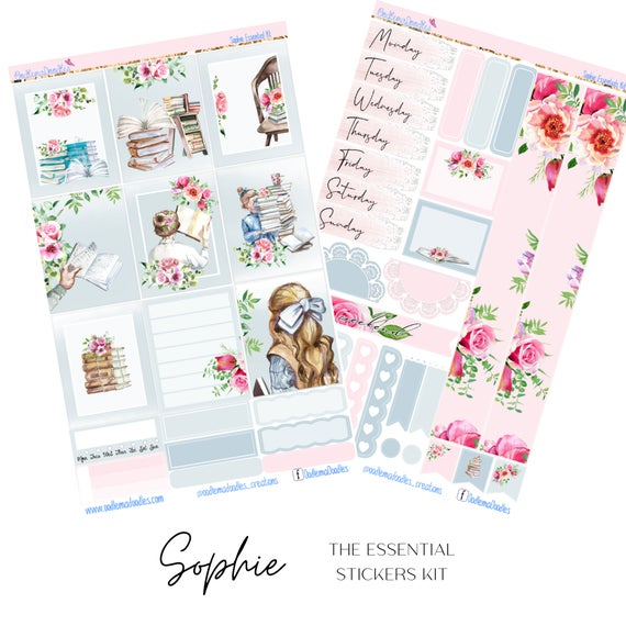 Sophie Essential Planner Sticker Kit