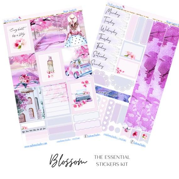 Blossom Essential Planner Sticker Kit