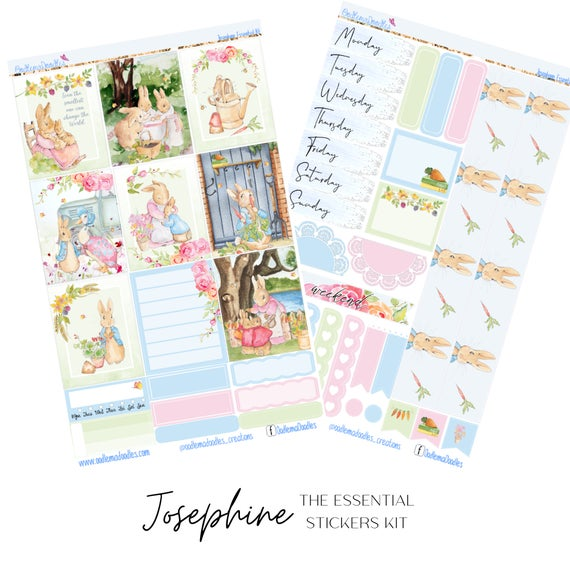 Josephine Essential Planner Sticker Kit
