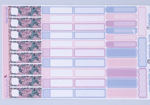 Romance Extra Labels Sheet