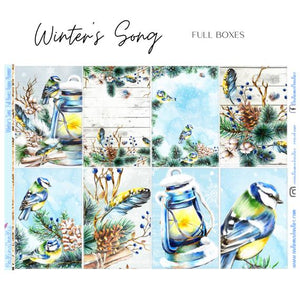 Winters Song Happy Planner Classic